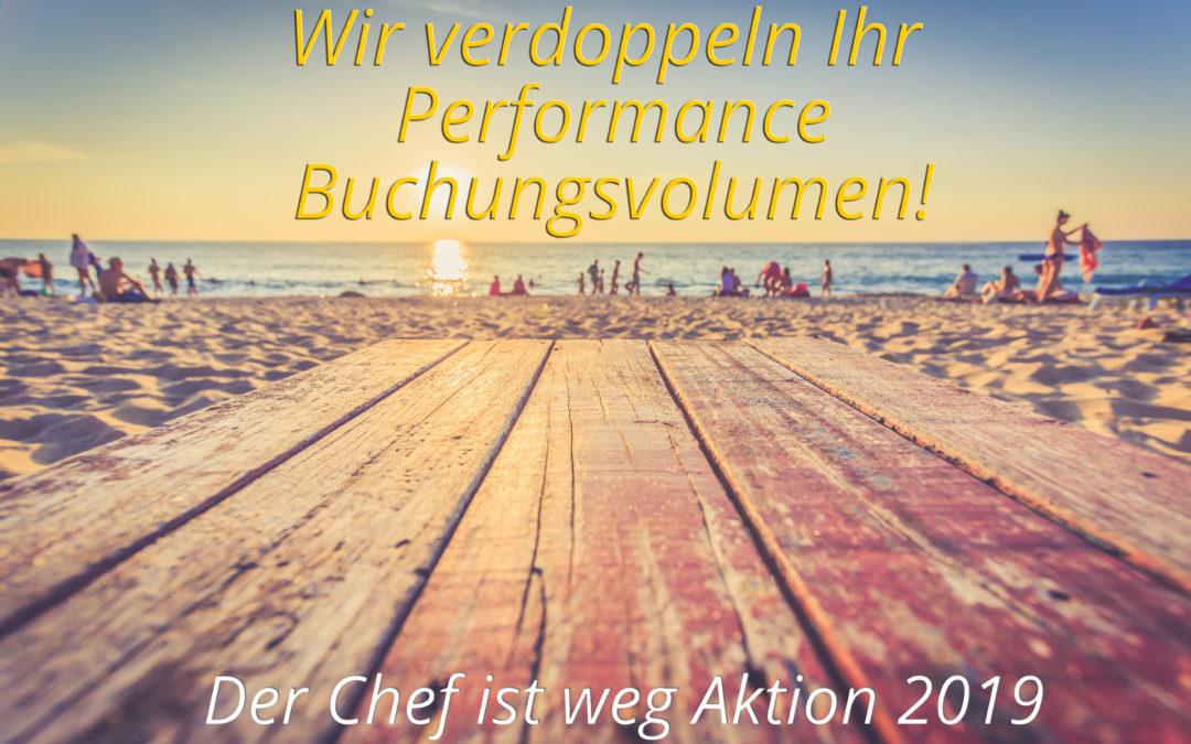 """Chef ist weg"" Aktion 2019"